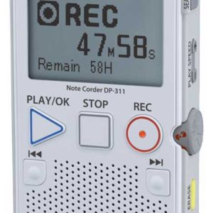 Olumpus DP-311 Personal digital recorder with Calendar search | Raltone