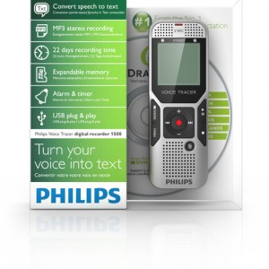 Philips & Nuance speech to text DVT-1700 Voice Recorder | Raltone
