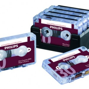 Philips Mini Cassette Tapes 15 Min each side | Raltone