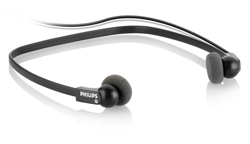 Philips Headphones under chin for the 700 Series | Raltone