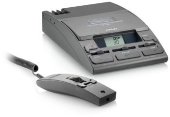 Philips Tape Desktop Recorder LFH-725 with Microphone